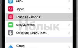 Как поставить пароль на ipad