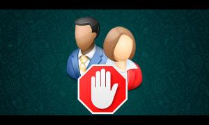 Как заблокировать в ватсапе контакт на айфоне