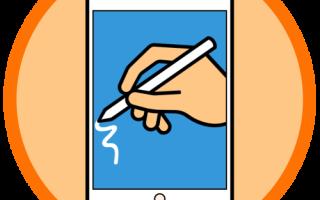 Как рисовать на айпаде