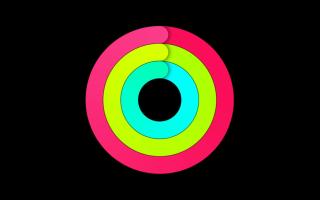 Как изменить активность на apple watch